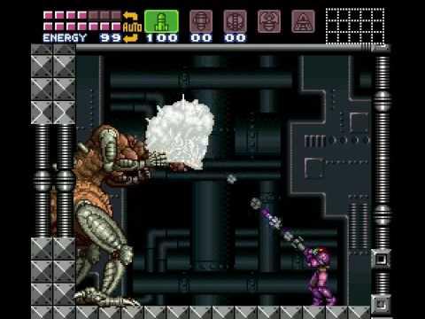 Super Metroid - Mother Brain 2 - No damage