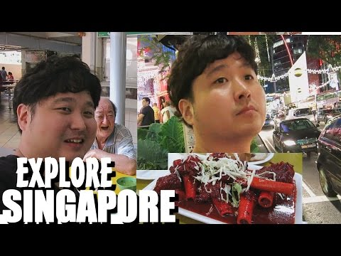 Explore Singapore Travel and Food with OLDBOY