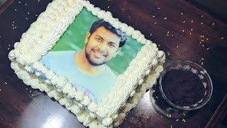 How To Make Photo Cake Pastry At Your Home| Customized Personalized photo cakes| Edible photo cake