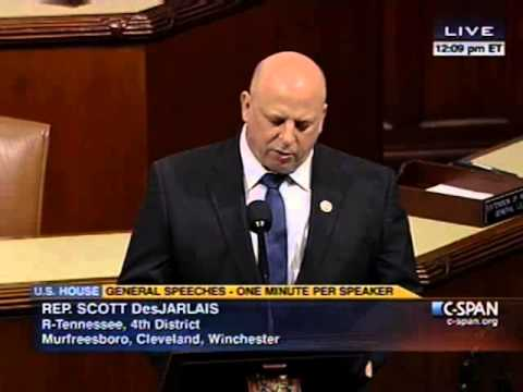 Rep. Scott DesJarlais Speaks Against President Obama's Budget