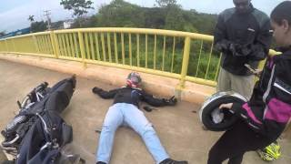 MT-09| Saída para passeio e acidente na Ponte do Rio Madeira BANDIT1200s