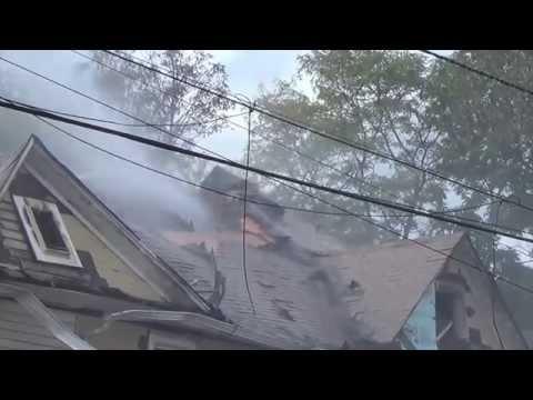 DUNELLEN NEW JERSEY THIRD ALARM STRUCTURE FIRE 10/14/14