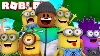 SAVING THE MINIONS | Roblox Despicable Me Adventure Obby (Full Game)