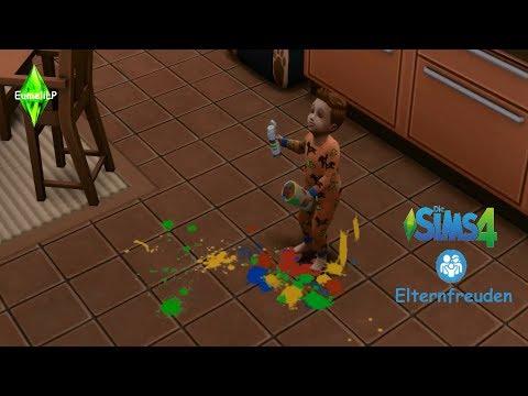 Let's Play Sims 4 Elternfreuden Part 12 - Mit dem Onkel spielen