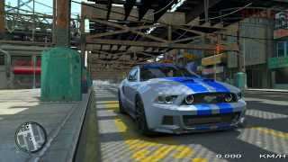 Grand Theft Auto IV - 2013 Ford Mustang GT NFS Edition - From Route 66 to Home - HD 1080p