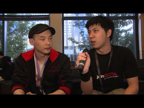 QQQ Interview (Chinese) - The International 2013