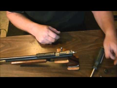 How to change the Crosman 2240 and 1377 Hammer spring