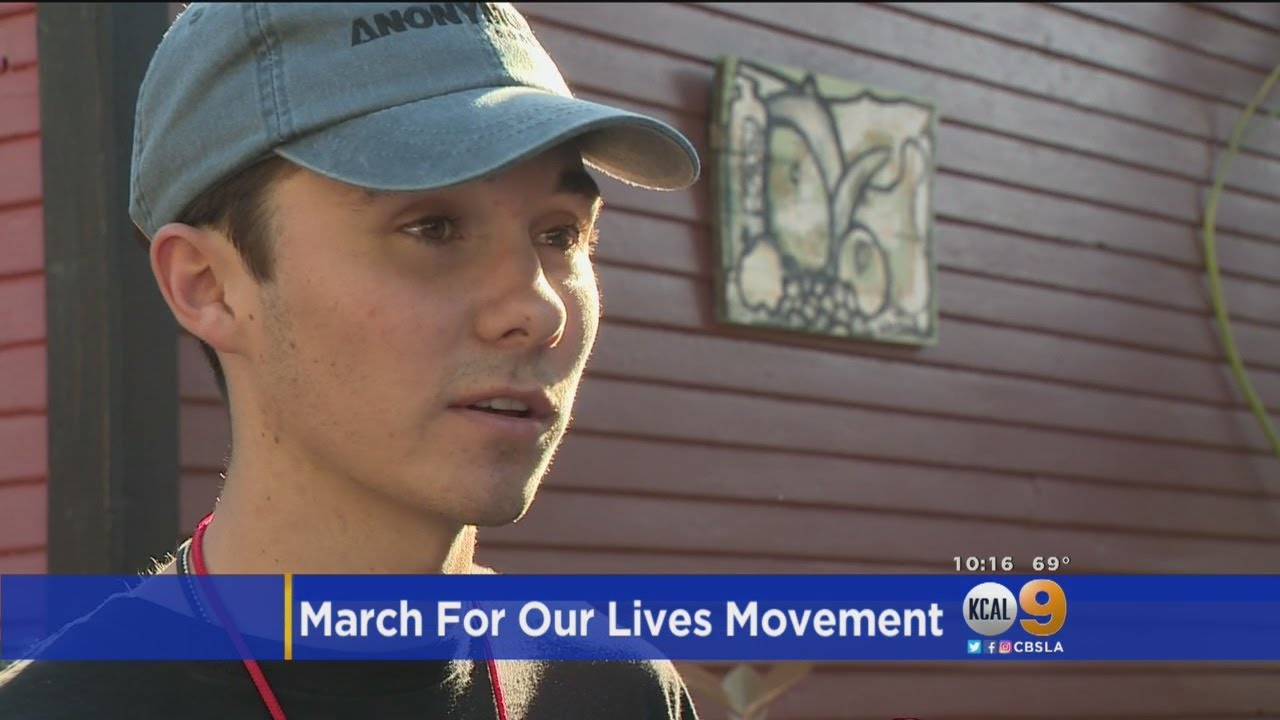 #MarchForOurLives: Parkland Shooting Survivors In SoCal To Register Voters