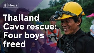 Thailand cave rescue: Successful start to the mission
