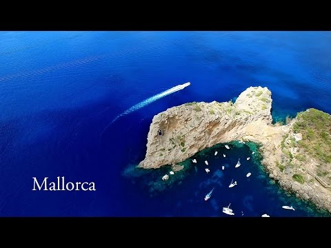 Beautiful Mallorca (Balearic Islands) AERIAL DRONE 4K VIDEO