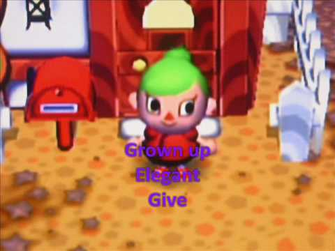 Hairstyles Animal Crossing City Folk : Animal Crossing City Folk Girl Hairstyles - YouTube