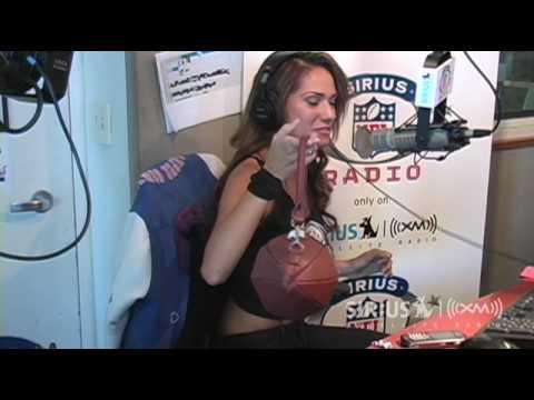 Reby Sky Turns a Football into a Purse // SiriusXM // NFL Radio