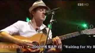 download lagu Jason Mraz -the Remedyi Won't Worry Live gratis