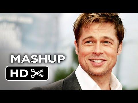 Ultimate Brad Pitt Movie Mashup (2014) HD