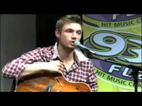 Nick Carter Performs I Want It That Way