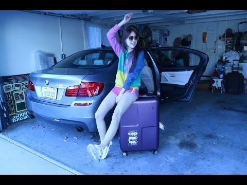 暑假整理行李分享 l What's in my travel bag+My new fashion luggaue