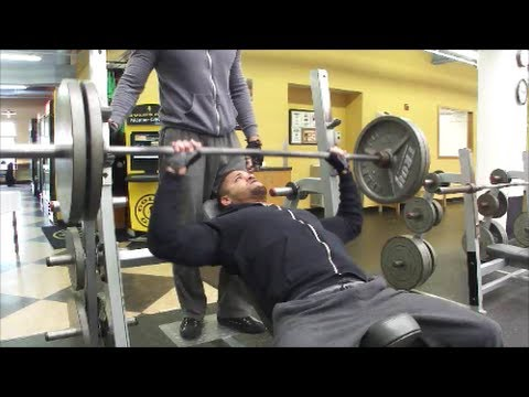 Chest Training with TMW and Vann Brah!