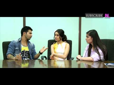 Exclusive | Watch Varun Dhawan & Shraddha Kapoor Jam on BollywoodLife