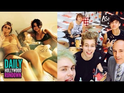 Selena Gomez Celebrates 22nd Birthday In Sexy Bikini! - 5 Seconds of Summer Perform For Crying Fans