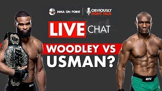 Usman vs. Woodley?, Zuffa Boxing, UFC 233 cancelled, UFC on FOX 31 - Live Chat