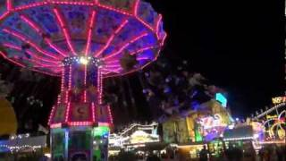 Oktoberfest München Wiesn Bei Nacht ★ Oktoberfest At Night Bavaria-Munich  Video-Musik Song Lied