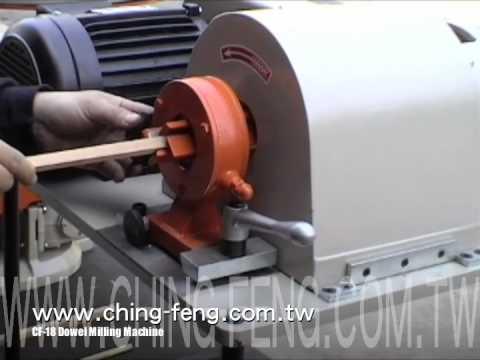 CF-18 Dowel Milling Machine.m4v