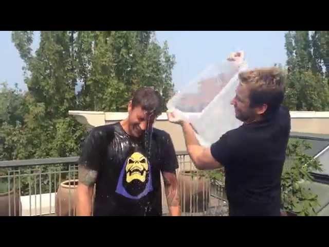 Nickelback - Daniel Adair Ice Bucket Challenge To Strike Out ALS