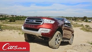 Off Road In The New Ford Everest: 4x4 Review