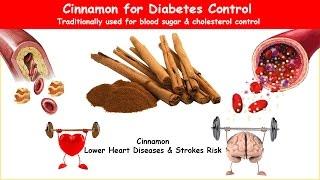 Cinnamon Diabetes Herb Lower BS, A1C & Cholesterol