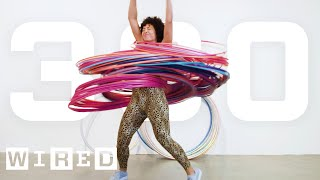 Why It's Almost Impossible to Spin 300 Hula Hoops At Once | WIRED