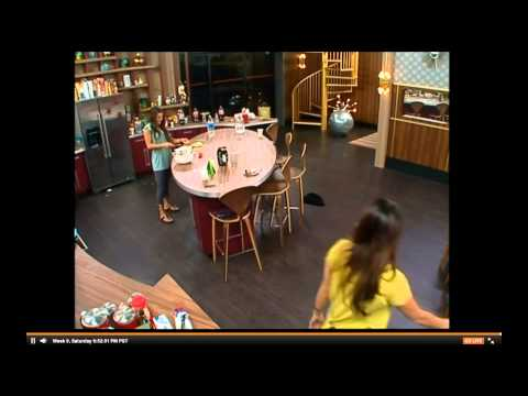 Amanda freaks out at Elissa BB15 Live Feeds
