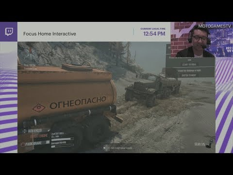Spintires: MudRunner - Gamescom 2017 - Gameplay Preview