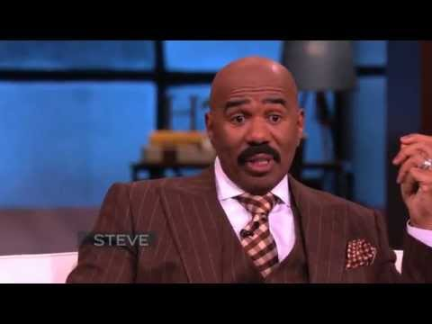 Steve Harvey Talks with Oprah