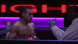 Joe Yarde vs Aaron Clarke   WARLORDS 06 FEB 2016 KC Fight club bout 3