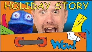 Holiday Story with Clothes NEW. Stories for Kids from Steve and Maggie with Bobby | Wow English TV