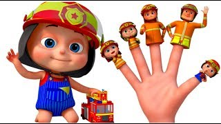 Firefighter Finger Family And Many More | Finger Family Songs | Videogyan 3D Rhymes