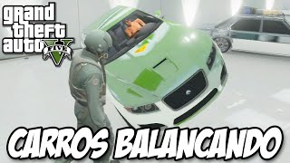 GTA V - Carros Balançando FRENETICAMENTE GLITCH HUE