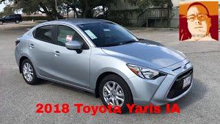 2018 Toyota Yaris IA Walk Around Video