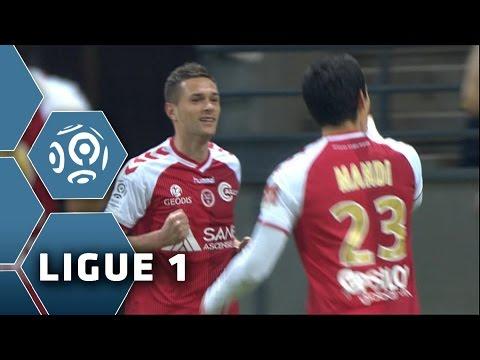 But Grégory BOURILLON (14') / Stade de Reims - FC Nantes (3-1) -  (SdR - FCN) / 2014-15