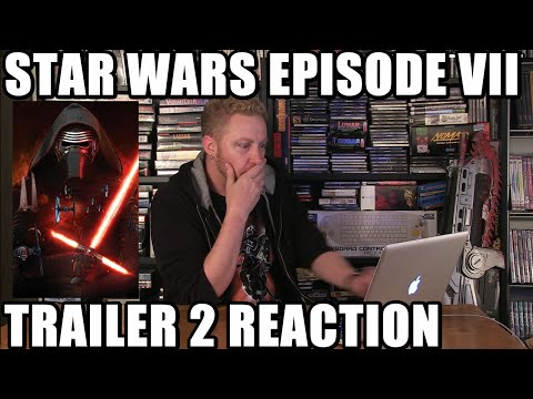 STAR WARS EPISODE VII TRAILER 2 REACTION! - Happy Console Gamer