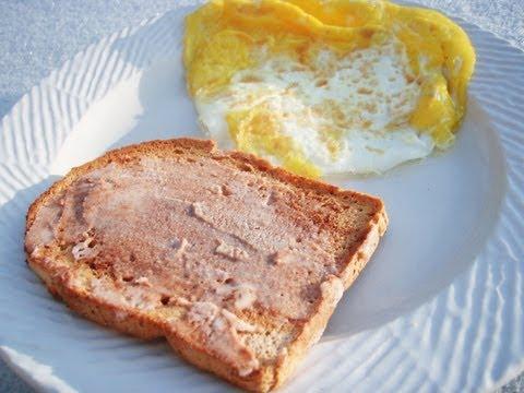 Cinnamon Coconut Paleo Toast Eggs