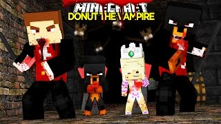 Minecraft - Donut the Dog Adventures -DONUT THE VAMPIRE BITES LITTLE KELLY & CARLY!!