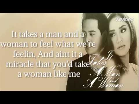 It takes a man and a woman lyrics sarah geronimo