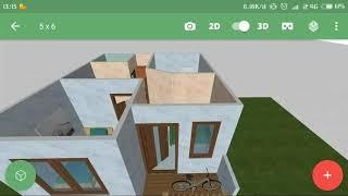 Download Desain Rumah Minimalis Ukuran 5 X 6 Dengan 2 Kamar Tidur Mp3