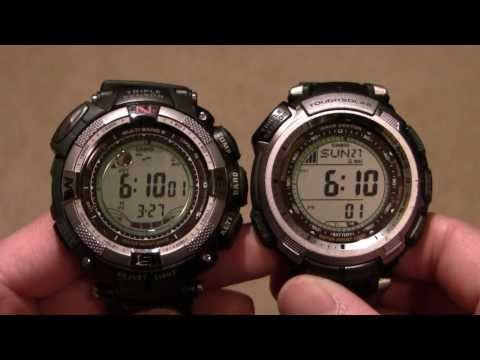 Comparison Review: Casio Pathfinder PAW1300/1500