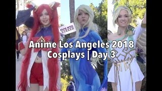 Anime Los Angeles 2018 Cosplays | Day 3