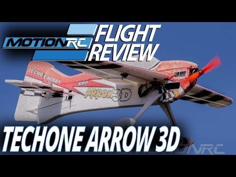 Techone Arrow 800mm EPP 3D Airplane - Flight Review - Motion RC