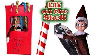 Evil Elf on the Shelf Goes to JAIL After Shaving Dad's Head! Bad Chucky!!!