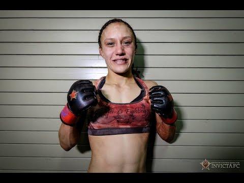 Invicta FC 9: Amber Brown Post Fight Interview
