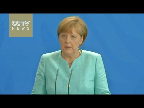 Merkel says Germany won't negotiate new deal with Greece before referendum